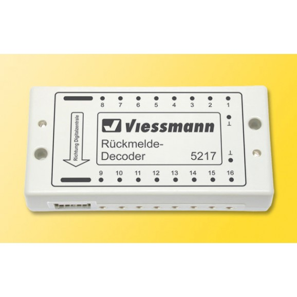 Viessmann - 5217 - Feedback decoder for s88-Bus