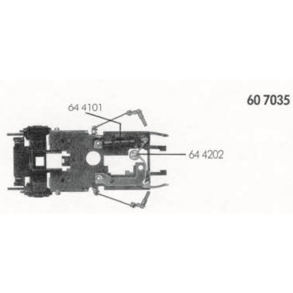FLEISCHMANN -00607035 - Pickup bar