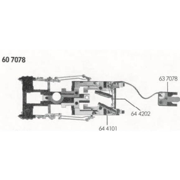 FLEISCHMANN -00607077 - Pickup bar F.87077