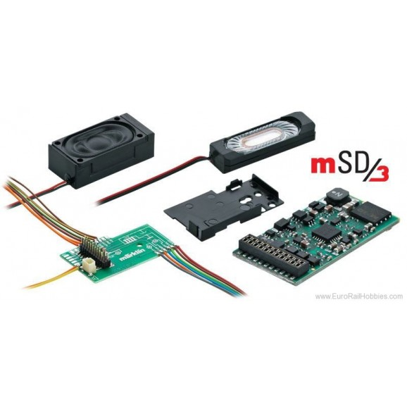 MARKLIN - 60975 - mSD/3 SoundDecoder for Steam (HO SCALE)