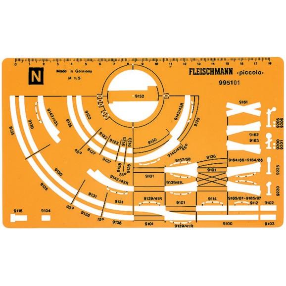 FLEISCHMANN - 995101 - Track diagram templ.,N,new