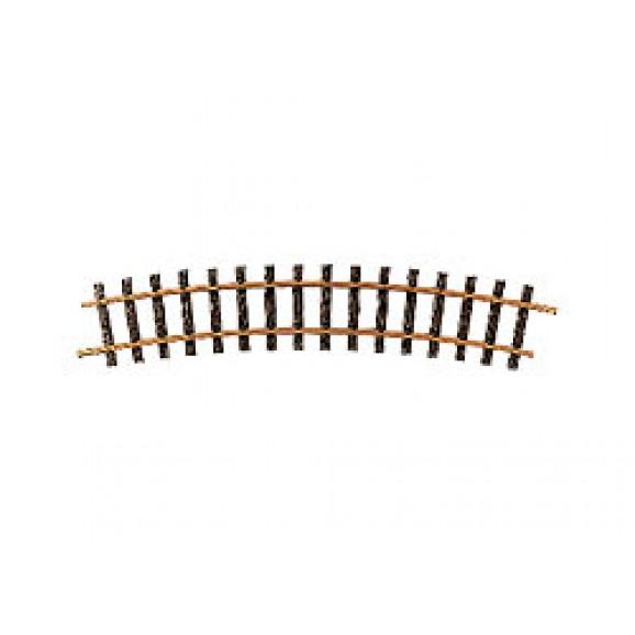 LGB - 16000 - Curved Track Code 320,R3,22.5 degrees G Gauge 1:22.5