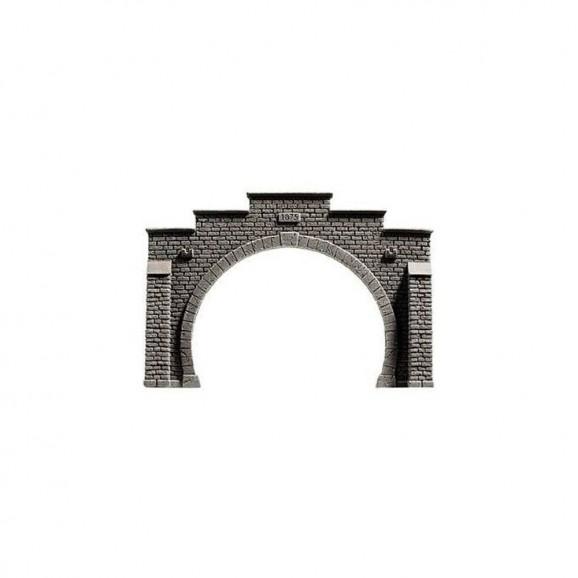 NOCH - 58052 Tunnel Portal, double track, 21 14 cm H0
