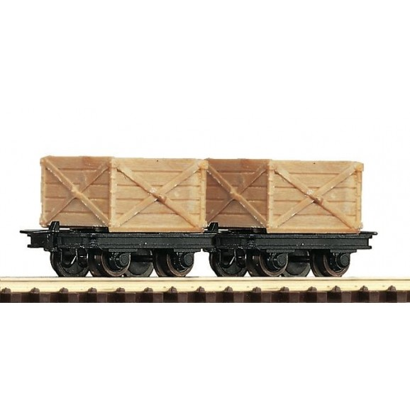 ROCO - 34603 - 2pc.set:tipper Freight Wagon - - HOe