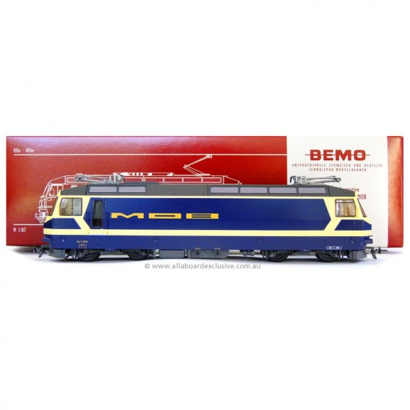 BEMO - 1259301 - MOB Ge 4/4 8001 electric loco