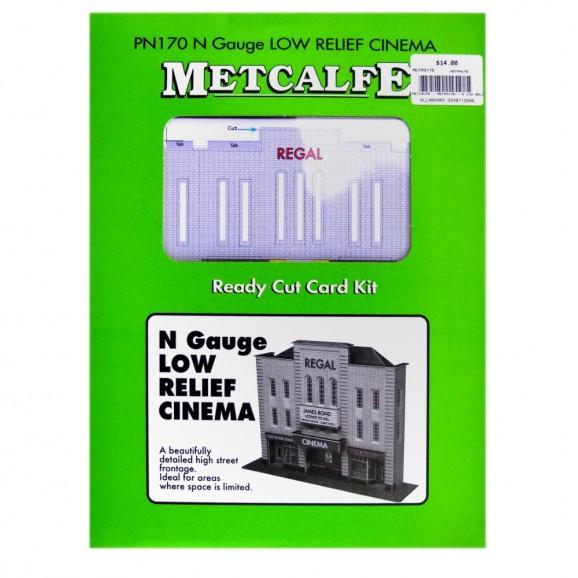 METCALFE - METPN170 - N LOW RELIEF CINEMA (N SCALE)