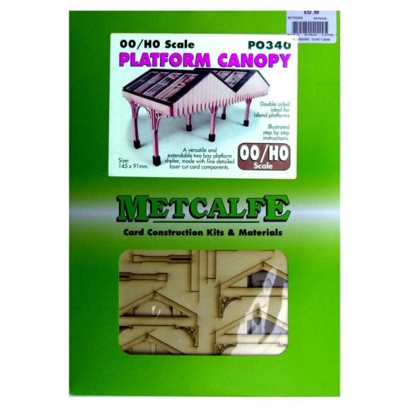 METCALFE - PO340 - PLATFORM CANOPY (HO/ OO SCALE)