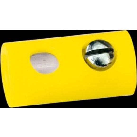 BRAWA - 3041 - Socket round, yellow [10 pieces]
