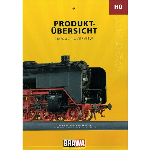 BRAWA - 90170 HO gauge Loco and Wagons Catalogue 2020