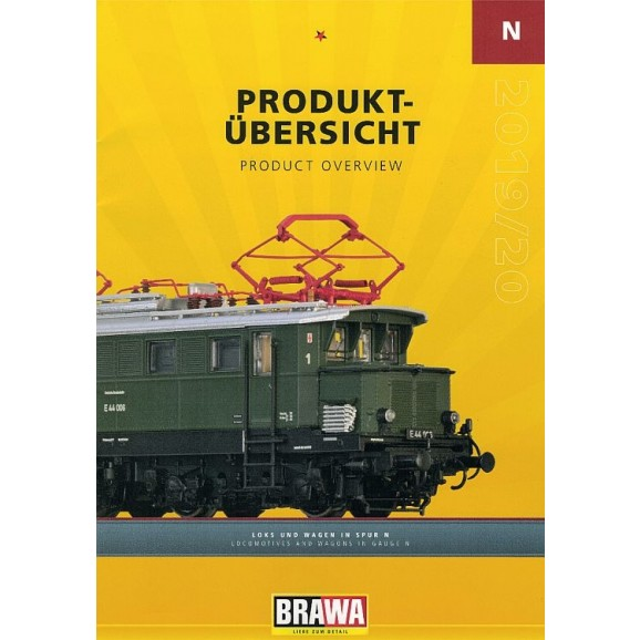 BRAWA - 90171 N gauge Loco and Wagons Catalogue 2020