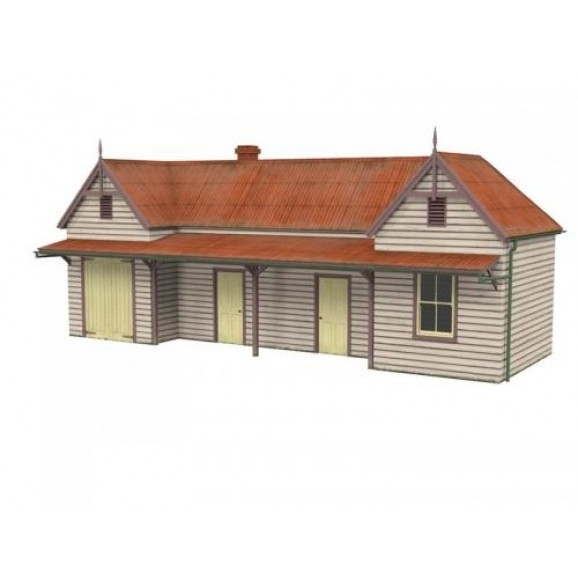 SCENECRAFT - 43 002 - NSWGR STATION - CROOKWELL (HO SCALE)