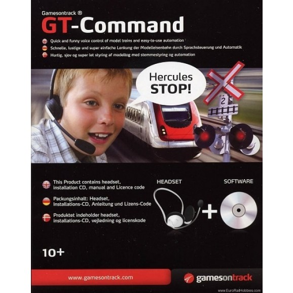 GAMES ON TRACK - 1300003 - GT COMMAND - GamesOnTrack SOFTWARE