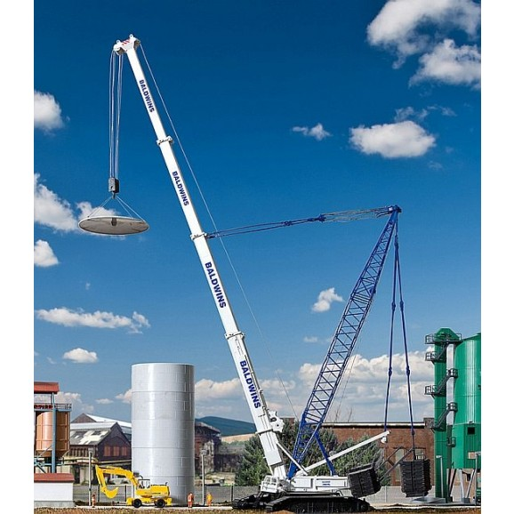 Kibri - 13022 - H0 LIEBHERR LTR 1800 crane Tele Derrick