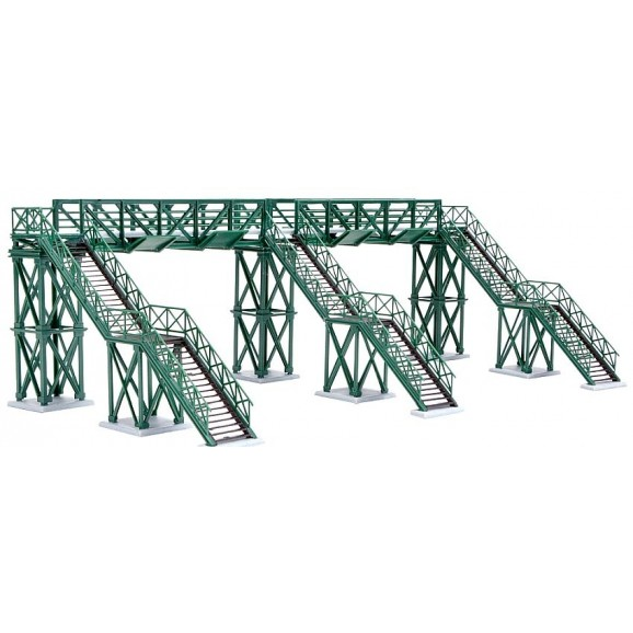 KIBRI - 37810 - N Footbridge, four track (N SCALE)