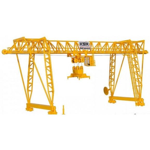 Kibri - 38530 - H0 DEMAG container crane