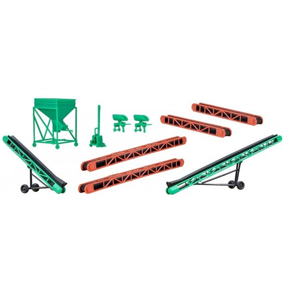 Kibri - 38606 - H0 Deco-set Coaling accessories