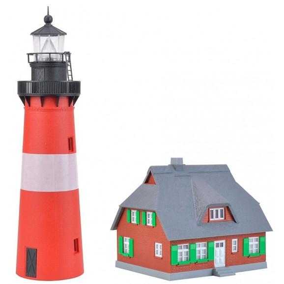 Kibri - 39166 - H0 Lighthouse Hörnum Sylt with annexe