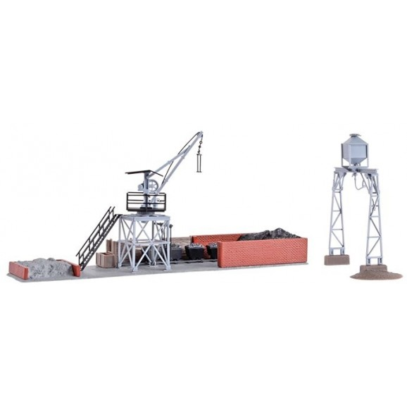 KIBRI - 39434 - H0 Coaling- and sand store (HO SCALE)