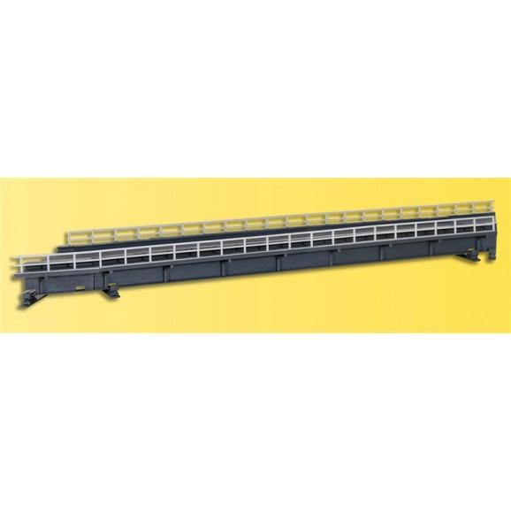 Kibri - 39750 - H0 Universal brick-built bridge piers, 2 pieces