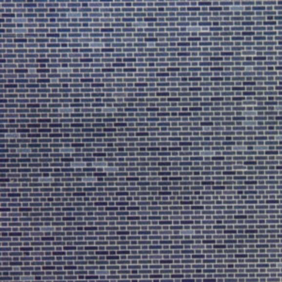 METCALFE - MOO53 - ENGINEERS BRICK BLUE 8 SHEETS HO/OO SCALE