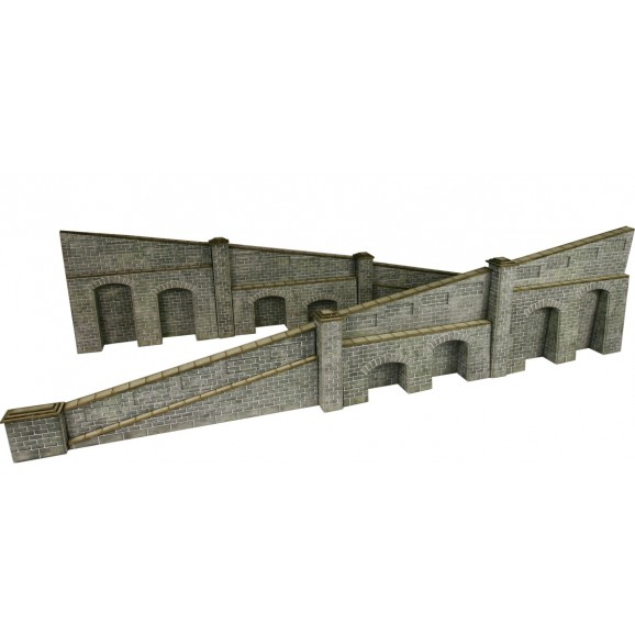 METCALFE - PO249 - TAPERED RETAINING WALL STONE (HO / OO SCALE)