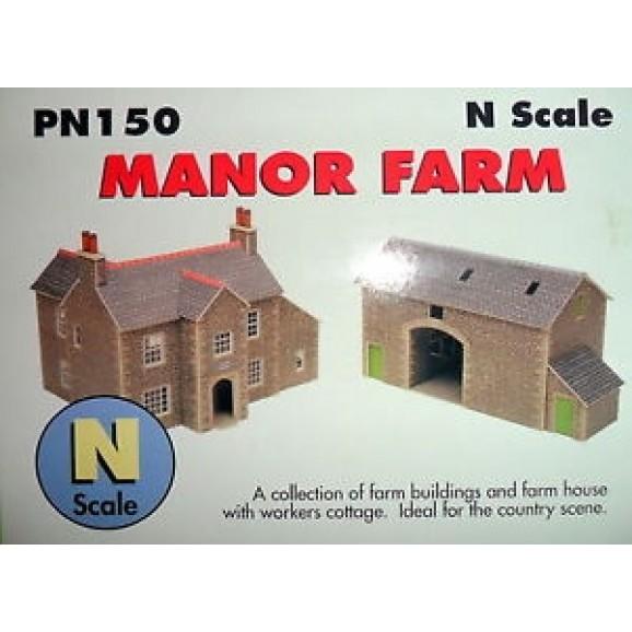 METCALFE - METPN150 - N MANOR FARM (N SCALE)
