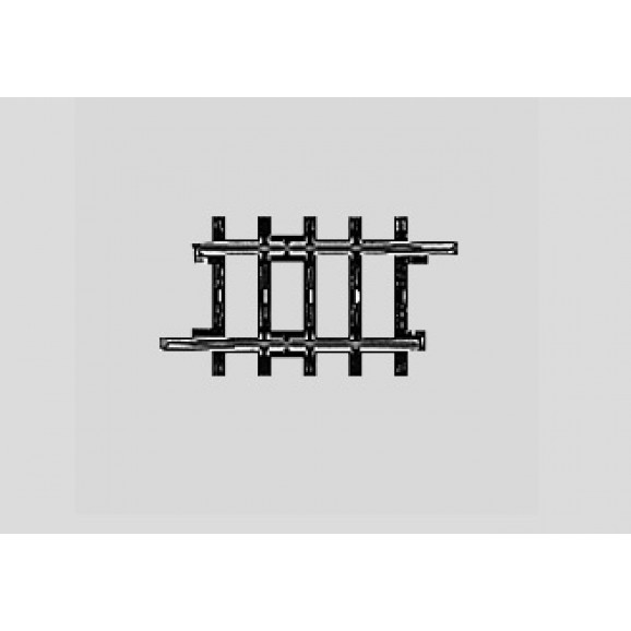 MARKLIN - 02293 - Track Straight. 41.3 mm HO 3 rail