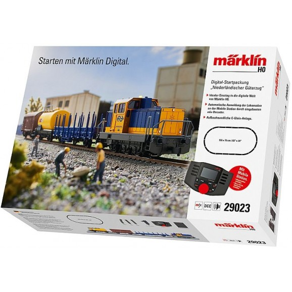 MARKLIN - 29023 - Starter Package Class 700 NS (HO SCALE)