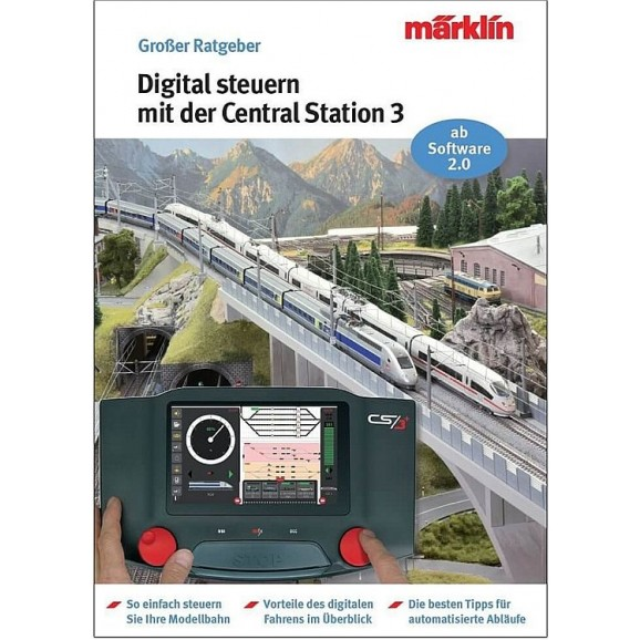 MARKLIN - 3083 - Book Marklin Digital Teil 3 D (HO SCALE)