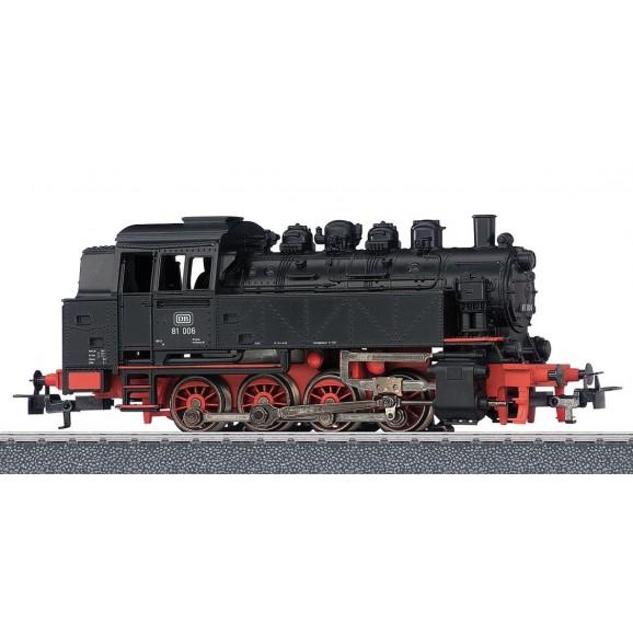 MARKLIN - 036321 - Steam Tender locomotive BR 81 DB HO 3 rail