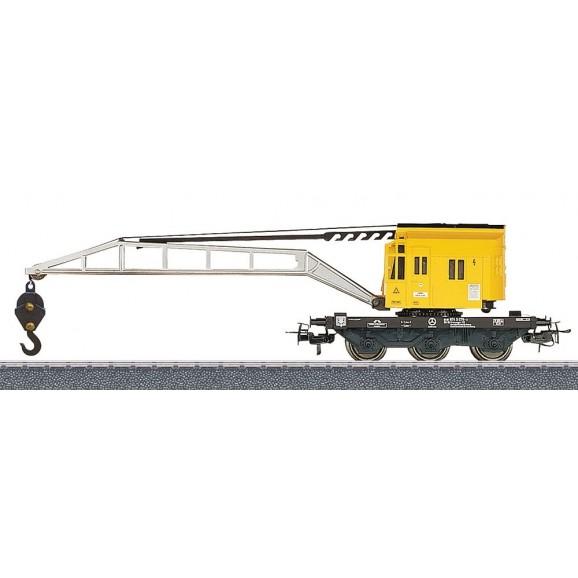 MARKLIN - 4671 - Crane car w/operat. crane (HO SCALE)