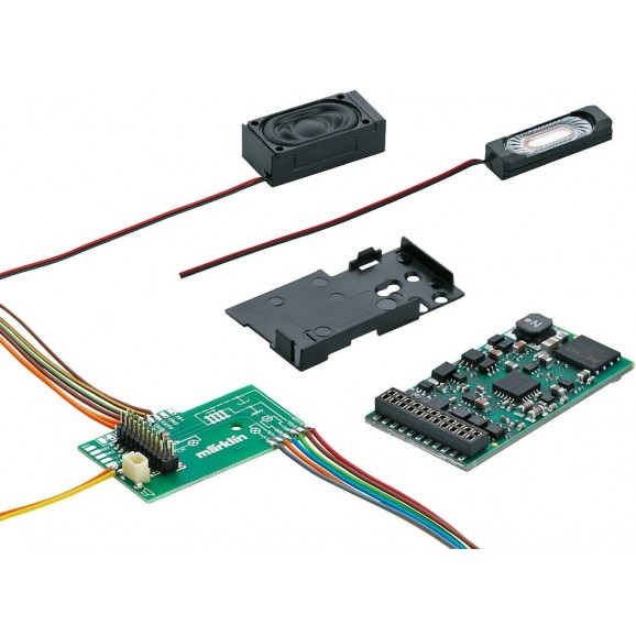 Marklin - 60977 - mSD/3 SoundDecoder for Electr märklin mSD3 SoundDecoder (HO Scale)