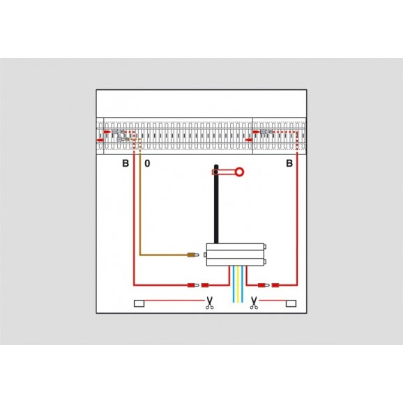 MARKLIN - 074043 - Signal connection set HO 3 rail