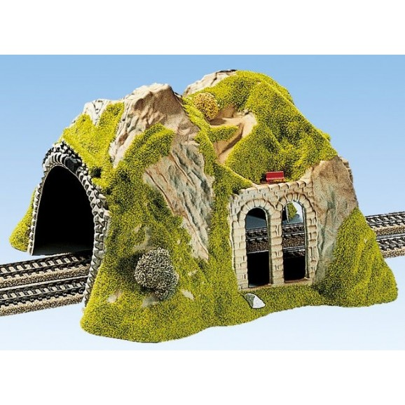 NOCH - 02430 - Tunnel Double Track, straight, 30 x 28 cm H0