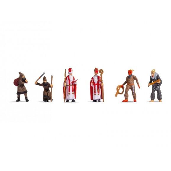 NOCH - 15929 - Santa Claus & Knecht Ruprecht H0