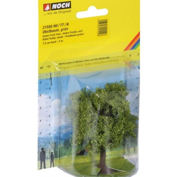 NOCH - 21550 - Fruit Tree green, 7,5 cm high H0,TT,N