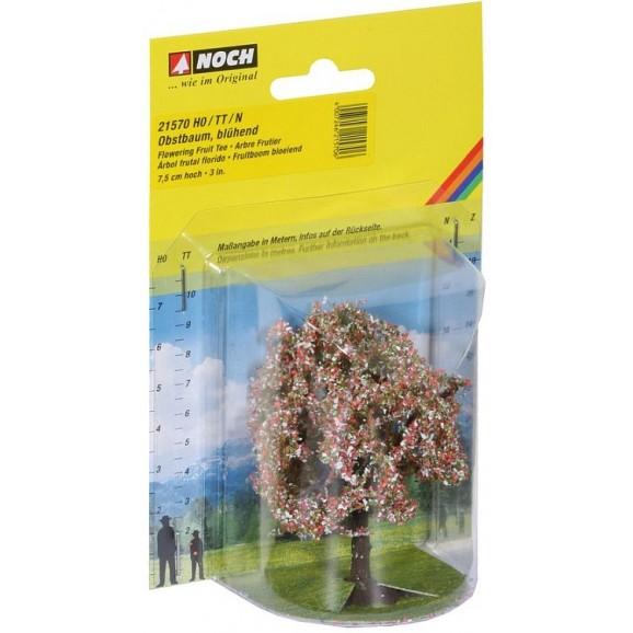 NOCH - 21570 - Fruit Tree blossom, 7,5 cm high H0,TT,N