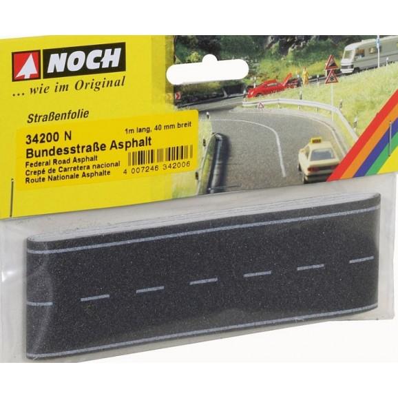 NOCH - 34200 - Federal Road Asphalt, 100 x 4 cm N