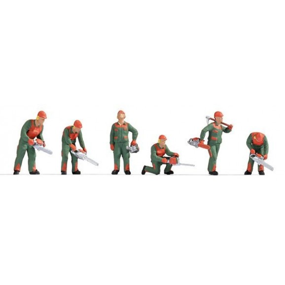 NOCH - 36061 - Forest Workers N SCALE