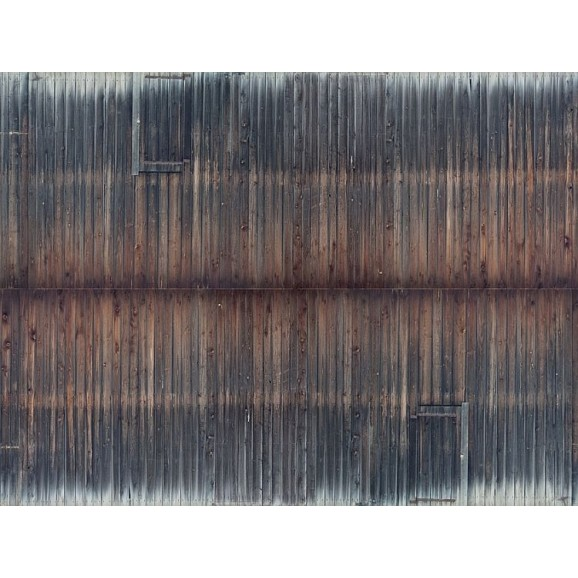 NOCH - 56665 - 3D Cardboard Sheet Timber Wall weathered H0