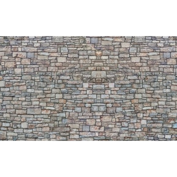 NOCH - 56940 - 3D-Cardboard Sheet Quarrystone Wall ,multicoloure N SCALE