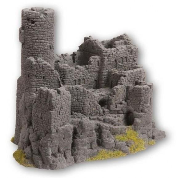 NOCH - 58609 - Castle Ruin, 15,5 x 10 cm, 12 cm high-H0,TT,N