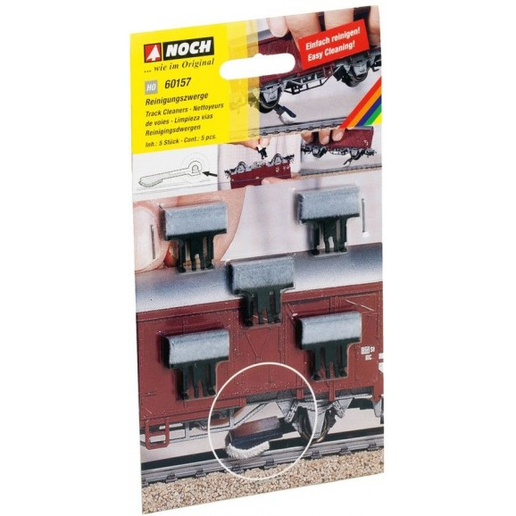 NOCH - 60157 - Track Cleaners 5 pieces H0