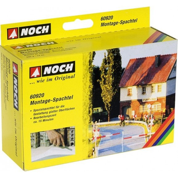NOCH - 60920 - Modelling Compound white, spackle, 500 g G,0,H0,H0E,H0M,TT,N,Z