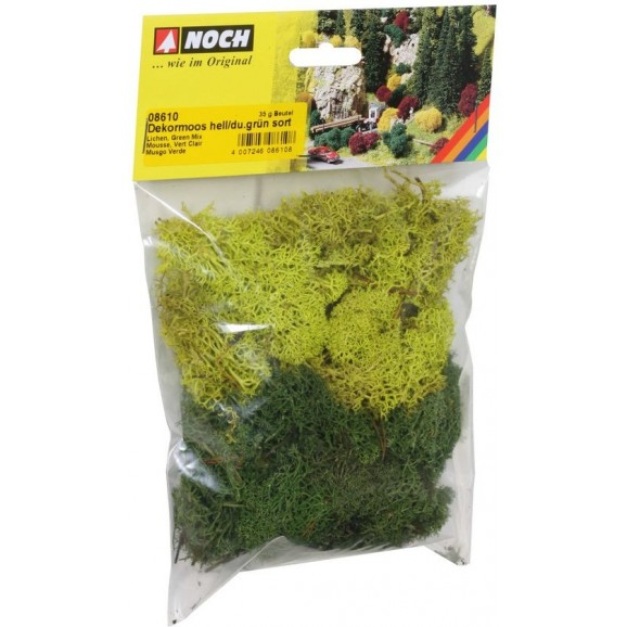 NOCH - 08610 - Lichen green mix, 35 g G,0,H0,H0E,H0M,TT,N,Z