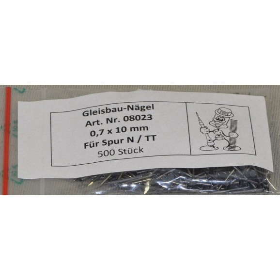 Peter Post - Tools - Modelling - 08023 - Nail track N 500 pieces