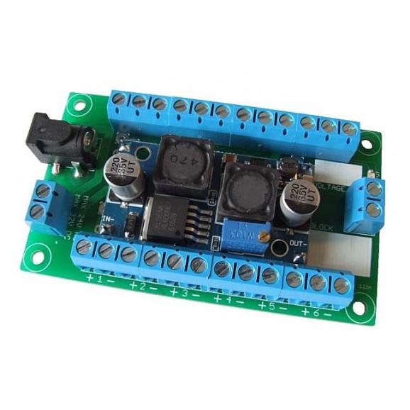 BlockSignals - PSU4 - 12volt DC power supply step up / down