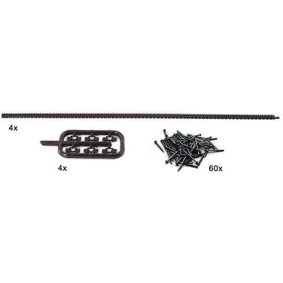 ROCO - 42602 - Flexible toothed racks for ROCO LINE tracks (HO SCALE)