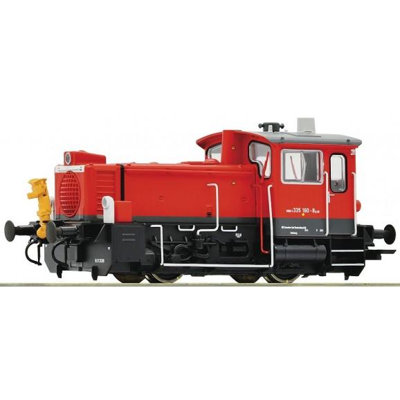 ROCO - 72017 - Diesel locomotive 335 160 -8 DB-AG ep.VI (HO SCALE)
