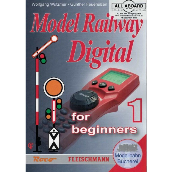 ROCO - 81391 - MODEL RAILWAY DIGITAL BOOK 1 ENGLISH